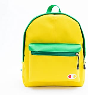 Leng QL Personality Backpacks Leisure Travel Parent-Child Backpack Children's Schoolbag(Small Size,Yellow)