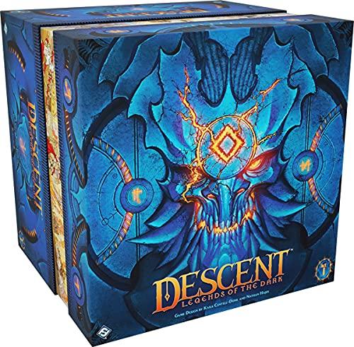 Asmodee Descent: Legenden der Finsternis, Expertenspiel, Dungeon Crawler, Deutsch