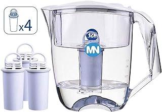 Lknjl Filtré Filtre à Eau Pichet |Garanti for supprimer d'autres contaminants, 10 Purificateur Cup