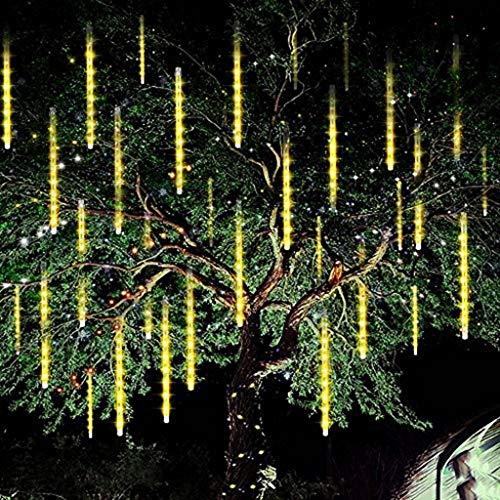 Dekoration Garten Meteor Dusche Regen Tropfen Lichter Beleuchtung Lichterkette 30Cm LEDs wasserdichte Icicle Schneefall String Lichter Spiral Tubes Weihnachten Snowfalls Weihnachtsbaum Shower