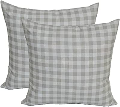 Amazon.com: Conjunto de 4 Interior/exterior almohadas – 17 ...