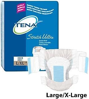 Tena Ultra Stretch Briefs Size Large/XL Case/72
