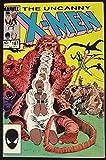 UNCANNY X-MEN #187 VF+ JOHN ROMITA JR ART