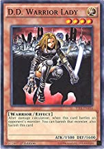 Yu-Gi-Oh! - D.D. Warrior Lady (YS14-ENA04) - Space-Time Showdown Power-Up Pack - 1st Edition - Common