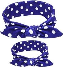 Mommy & Me Headband Set Baby Photo Props Cotton/Spandex Head Wraps