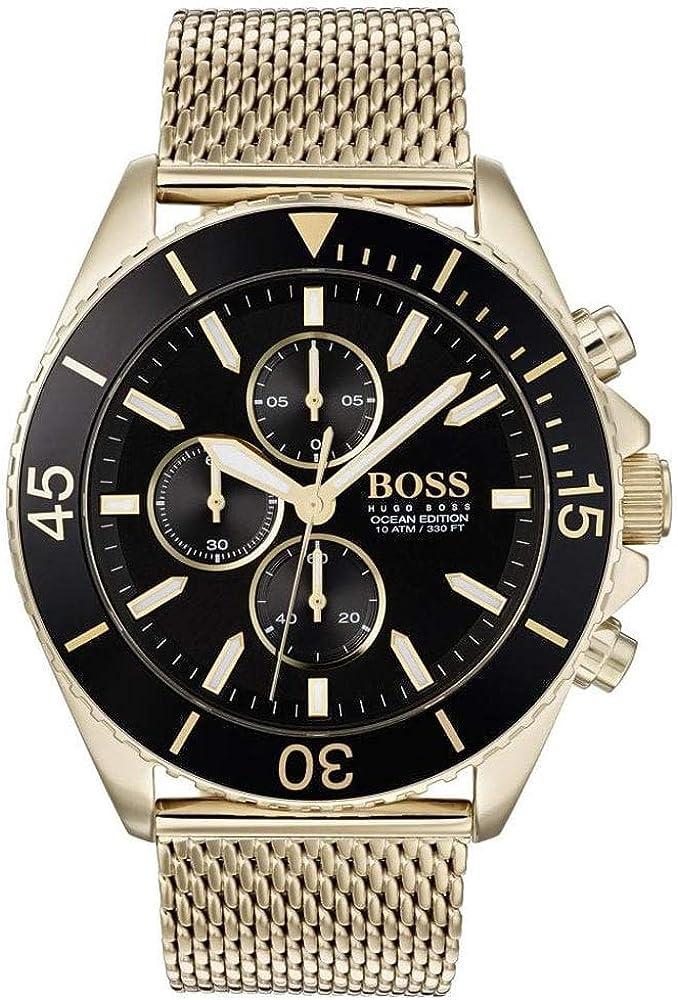 Hugo boss, orologio cronografo al quarzo  per uomo, in acciaio inossidabile 1513703