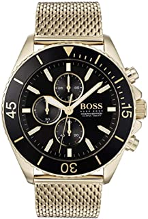 Hugo Boss Mens Chronograph Quartz Watch with Stainless Steel Strap