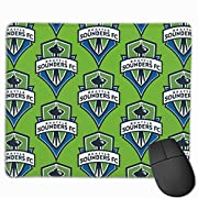 Durable Stitched Edges Measure 9.8 X 11.8 Inches, Small Size But Perfect Size For Work And Game, This Mouse Pad Has Delicate Edges Preventing The Mouse Pad From Fraying And Degumming, Commitment Won'T Curl, Design For Security And Durability, Ensure ...