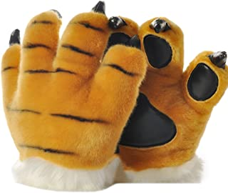 tiger paw costume gloves