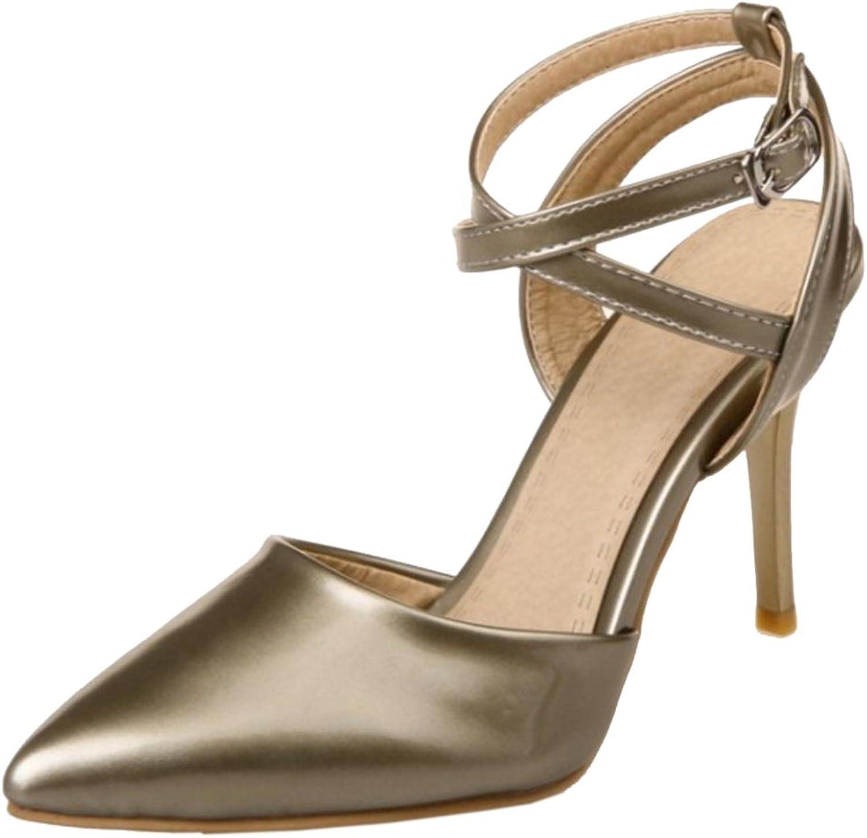 FizaiZifai Women Stiletto Sandals shoes Dress