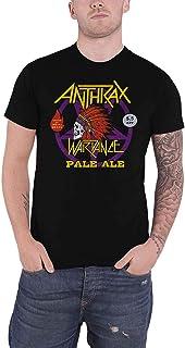 Anthrax T Shirt War Dance Paul Ale World Tour 2018 新しい 公式 メンズ