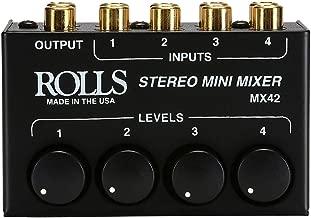 Best stereo mini mixer 4 input Reviews