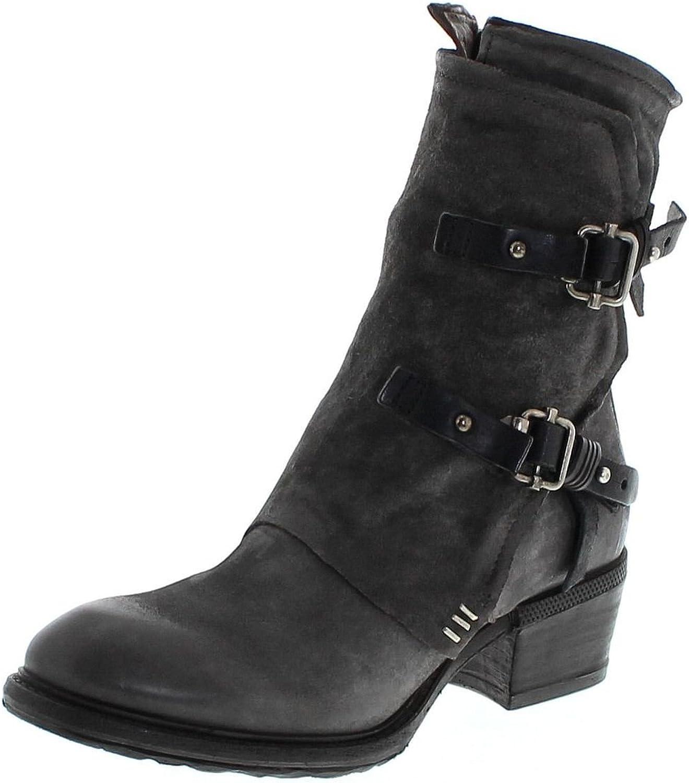 FB Fashion Stiefel S.98 260206 Nebbia schwarz Damen Stiefelette Grau Damenschuhe Damen Stiefel