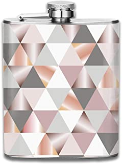 FGRYGF Stainless Steel Flask Shining Stars Hip Liquor Flask Cute Flask Whiskey Vodka Alcohol Hip Flask for Men Travel Climbing Fishing Camping
