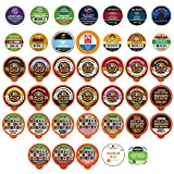 Crazy Cups Custom Variety Pack Decaf Coffee Single Serve Cups for Keurig K Cup Brewers, 40 Count
