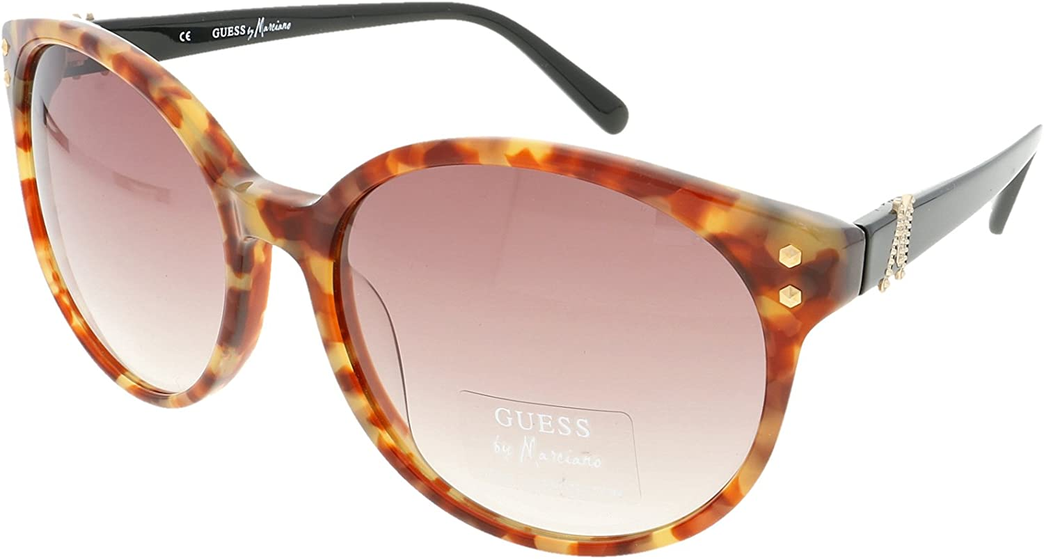 GUESS by MARCIANO GM 635 AMB 34 Ladies Designer Sunglasses + Case + Cloth