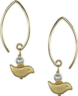 Sosie Designs Golden Dove Earrings SD-DOVE