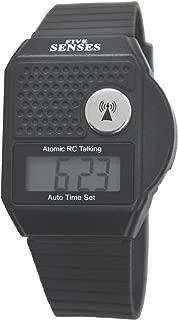 ATOMIC Talking watch - 5 Senses Top Button LCD Atomic Talking Watch UK & USA only (TC-1026 )