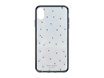 Kate Spade New York Jeweled Daisies Phone Case For iPhone XS Max (Clear Multi) Cell Phone Case