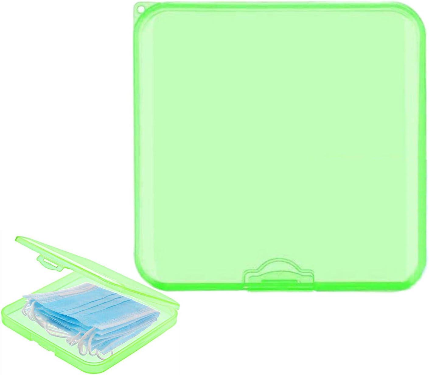 E Extenseur de Sangle de Masque Porte-Masque Bo/îtes de Stockage Portables avec Couvercles ODOOKON Bo/îte de Rangement de Couverture de Visage en Plastique /Étui de Rangement R/éutilisable