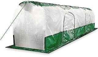 Bio Green Super Dome Túnel de plástico, Transparente, Verde