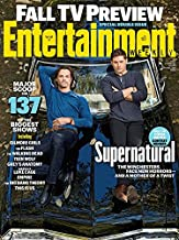 Entertainment Weekly September 16/23, 2016 Jared Padalecki & Jensen Ackles Supernatural (Fall TV Preview Special Double Is...