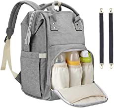 Diaper Bag Backpack, Sensyne Multi Function Waterproof Travel Baby Bag Large