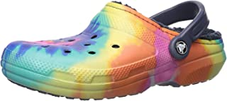 Men's and Women's Classic Tie Dye Lined Clog | Warm and...