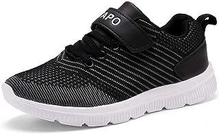 Foobrues Kids Sneakers Boys Girls Running Shoes Lightweight Breathable Walking Athletic Tennis Shoes