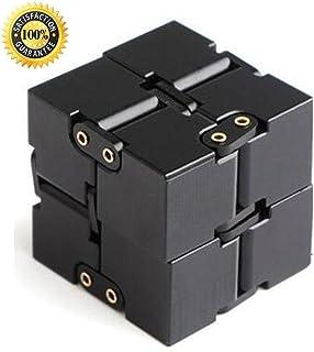 Comtervi Mode EDC Infinite Cube Mini Cube dinfini Jouet pour Le Stress de Soulagement de Stress Anti-anxi/ét/é Id/éal Jouet pour F/êtes Petit Cadeau 4cm x 4cm x 4cm