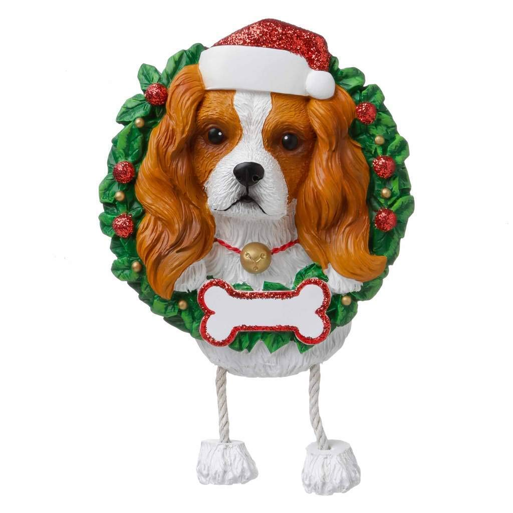 Beagle Ornament Personalised Christmas Bauble Decoration