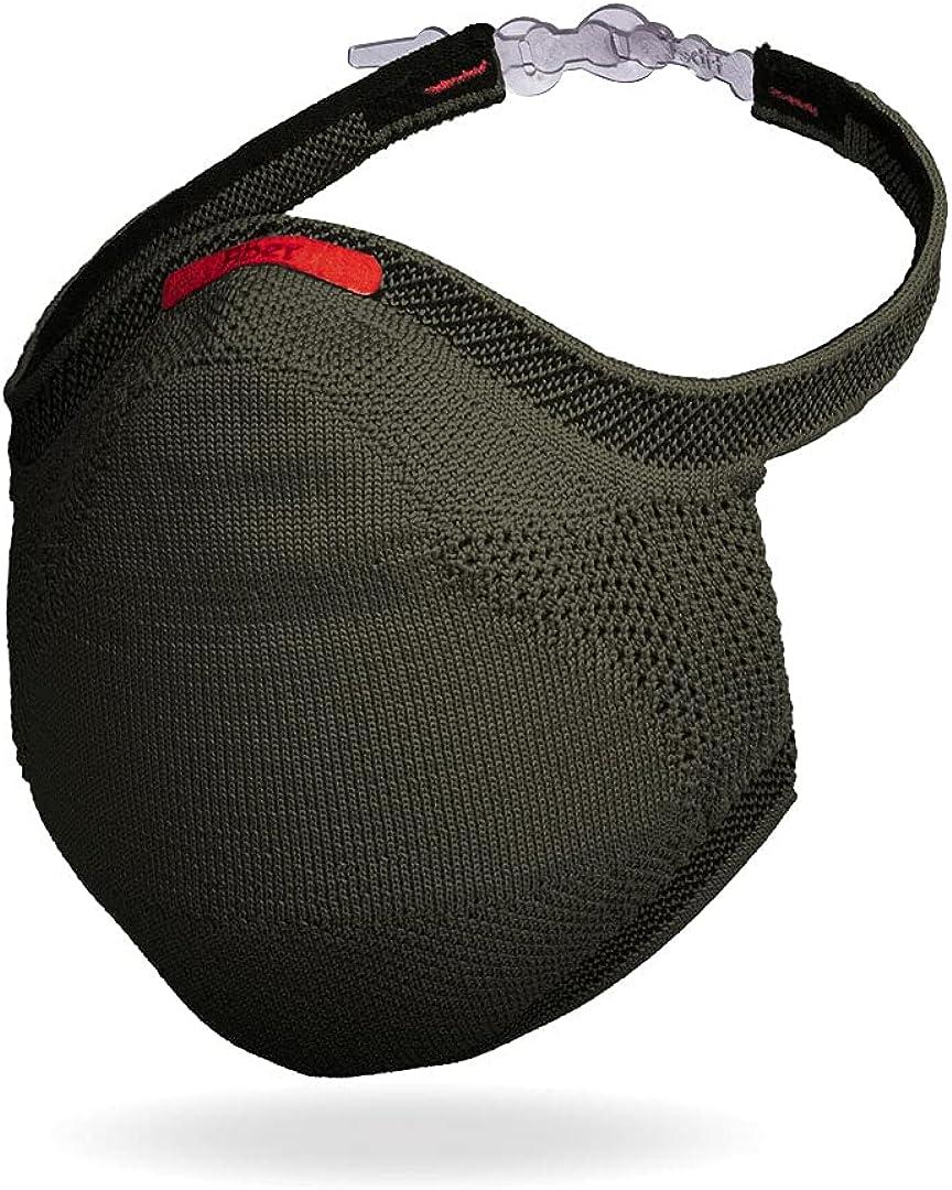Save money Fiber KnitSport Sport Mask + 30 Cheap sale Reusable Face Filters Cloth