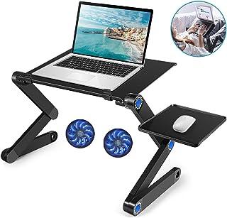 Laptop Table, Adjustable Laptop Bed Desk, Laptop Computer Stand, Portable Laptop..