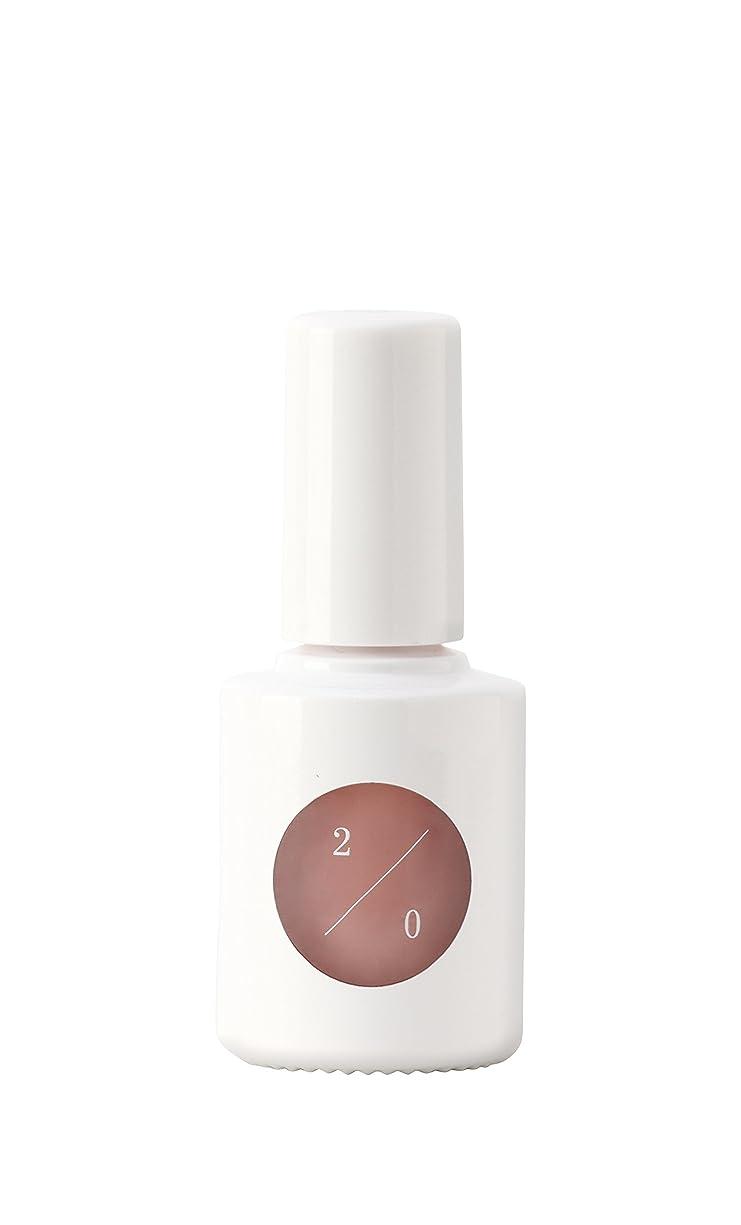 定義テクニカル残酷なuka カラーベースコート 2/0 (ゼロブンノニ) 血色感ピンク