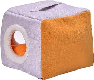 Panjianlin Cama del Animal doméstico Pet Nest Kennel Cat Litter Cómodo Warm Dog House Universal Espacio Acogedor y Libre p...