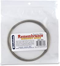 Beadalon Memory Wire Necklace Extra Large Bright, 1-Ounce