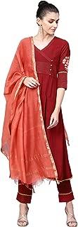 Jaipur Kurti Women's A Line Salwar Suit Set