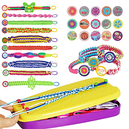 Friendship Bracelet Making Kit Toys, Ages 6 7 8 9 10 11 12 Year Old Girls Gifts...
