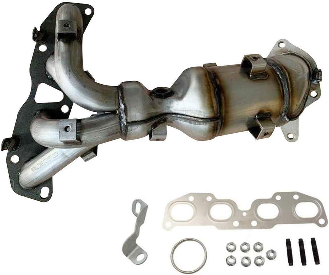 初売り Catalytic Converter 百貨店 Exhaust Manifold Replacement for 2007-2012 N