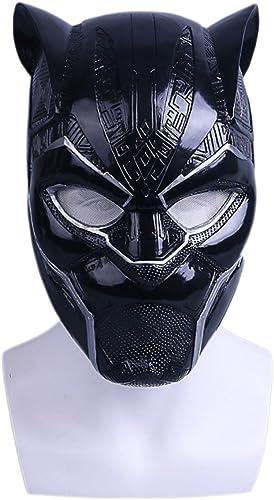 Film Panther Helm Maske Halloween Wecken Film Requisiten Cos,PantherHelmetLight-OneGröße