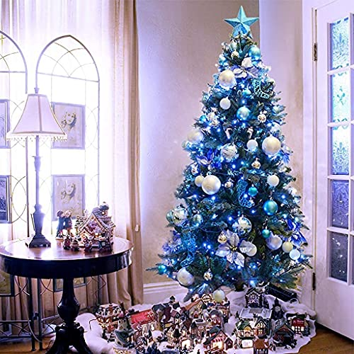 Decoraciones de Navidad,Árbol de Navidad con Adornos,Árbol de Navidad de Abeto Artificial...