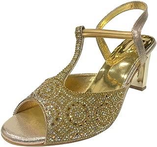 New Womens Bride Wedding Party Prom Shoes Heels Peeptoe Diamante Shoes