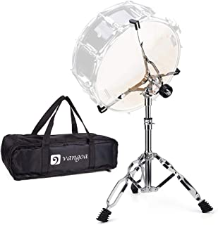 Snare Drum Stand Lightweight Double Braced Adjustable Height with Carrying Bag Fit 10