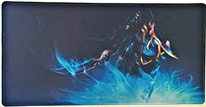 24x12 Inch Dota 2 LOA DK Abaddon Wow Arthas Extended HD Gaming Collection Office Mouse Pad Non Slip Rubber Mouse mat