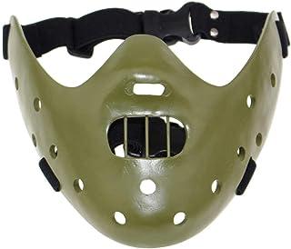 Masker Decoratie, Halloween masker Horror Half Gezicht Chin Mask Decorative Props (Color : C)