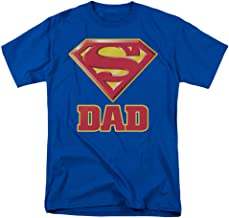 DC COMICS SUPERMAN - SUPER DAD - LICENSED MENS S/S TEE