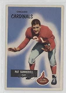 Pat Summerall (Football Card) 1955 Bowman - [Base] #52