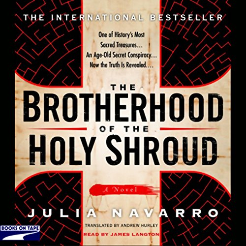 The Brotherhood of the Holy Shroud audiobook cover art