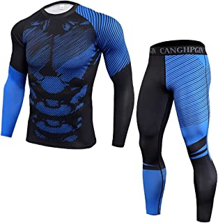 NIEWEI-YI Winter Thermal Underwear Sets Quick Dry Thermo Male Warm Long Johns