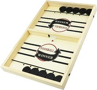 SEEDSTONE スリングホッケー ボードゲーム テーブルゲーム 木製 卓上 プレゼント